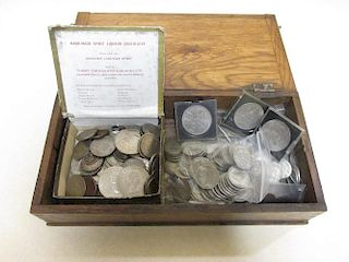 A quantity of 1920-46 silver coinage (parcel) including 50 florins, 30 half crowns, 60 shillings and