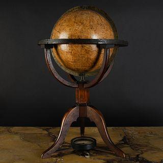 German Celestial 8 Inch Globe on Stand, Die HIMMELSK..GEL, gezeichnet..M..iedig, LEIPZIG, bei Schreibers...1820
