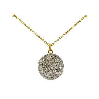 Gurhan Juju Gold Diamond Pendant Necklace