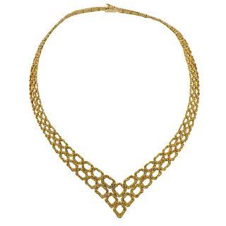Omega 1970s 18k Gold Necklace