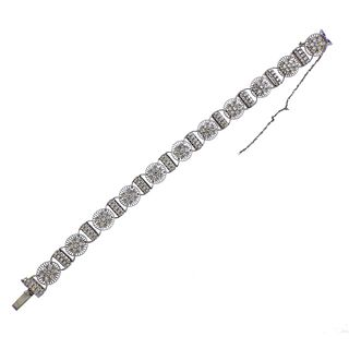 Jabel 18k Gold 2.50ctw Diamond Bracelet