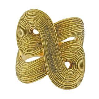 H. Stern Celtic Dunes 18k Gold Ring
