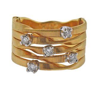 Marco Bicego Goa 18k Gold Diamond Ring