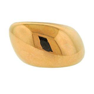 Vhernier Pirouette 18k Gold Titanium Ring