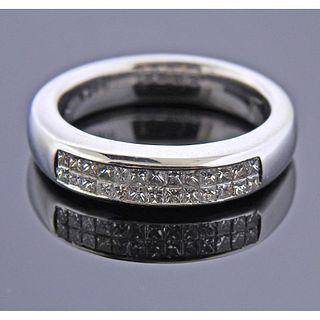 14k Gold Diamond Band Ring