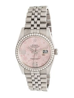 ROLEX, STAINLESS STEEL AND DIAMOND REF. 116244 'OYSTER PERPETUAL DATEJUST' WRISTWATCH