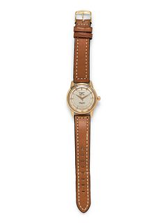 LONGINES, 18K YELLOW GOLD REF. 9001 'CONQUEST' WRISTWATCH