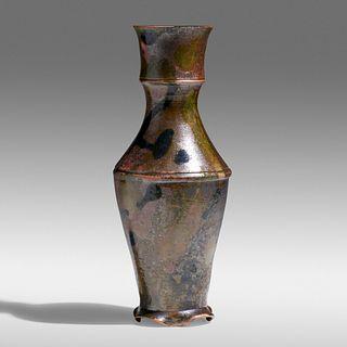 George E. Ohr, Tall vase
