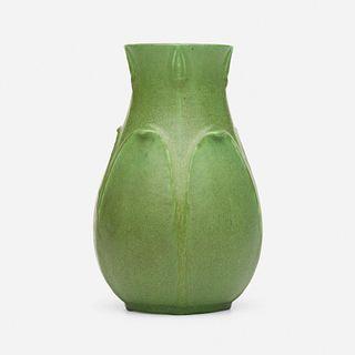 Annie Lingley for Grueby Faience Company, Vase