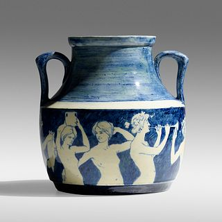 Ellsworth Woodward for Newcomb College Pottery, Rare and Early vase