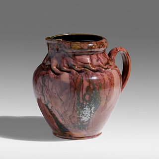 George E. Ohr, Exceptional and Large pitcher