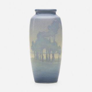 Charles Jasper McLaughlin for Rookwood Pottery, Scenic Vellum vase