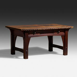 Gustav Stickley, Early desk, model 409
