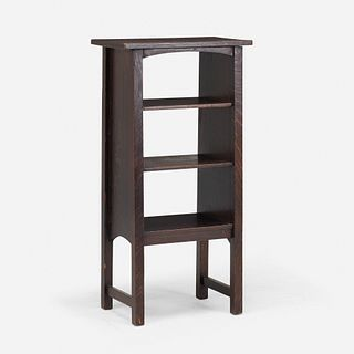 Harvey Ellis for Gustav Stickley, Magazine stand, model 72