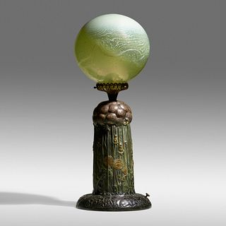 Tiffany Studios, Important Dandelion lamp