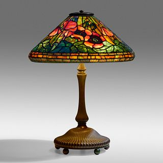 Tiffany Studios, Poppy table lamp