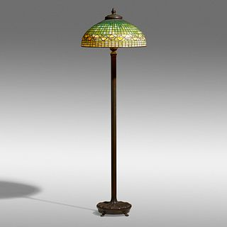 Tiffany Studios, Vine Border floor lamp
