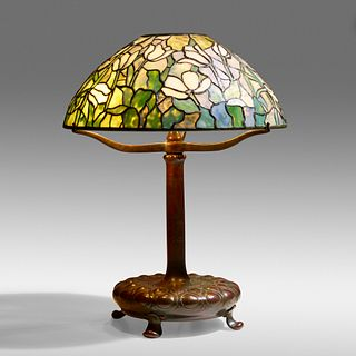 Tiffany Studios, Tulip table lamp