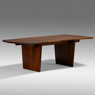 George Nakashima, Rare Minguren III dining table