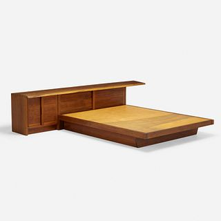 George Nakashima, Conoid headboard and Conoid platform bed