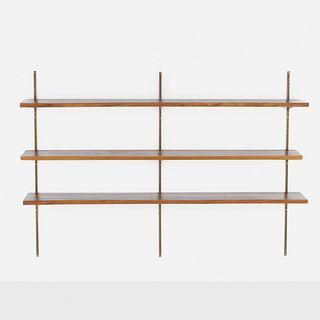 George Nakashima, Wall shelves, set of three