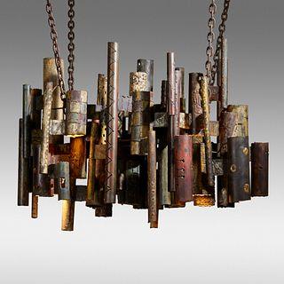 Paul Evans, Custom chandelier