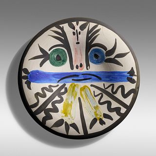 Pablo Picasso, Figures No. 28 plate