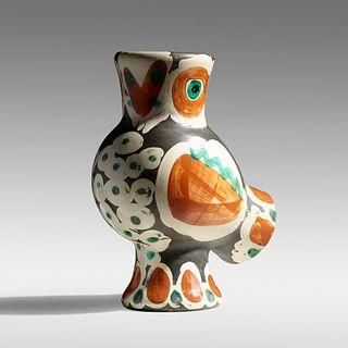 Pablo Picasso, Chouette vase