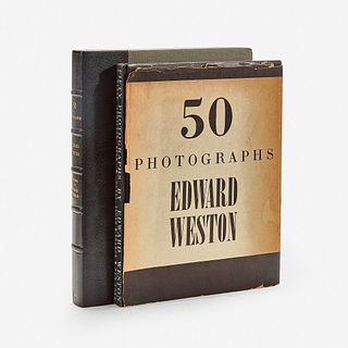 [Photography] Weston, Edward Fifty Photographs
