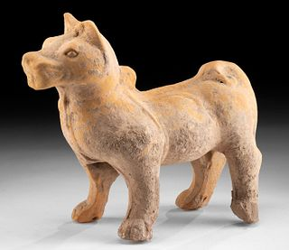 Chinese Han Dynasty Pottery Dog w/ TL Test