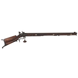 Swiss Schuetzen-style Percussion Rifle, .36cal