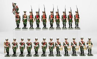 23PC RUSSIAN MARCHING BAND TOY SOLDIERS