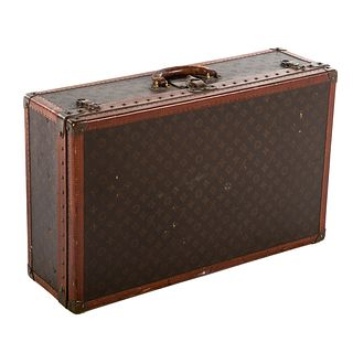 A Louis Vuitton Alzer 70 Suitcase