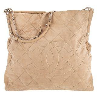 A Chanel Front Logo Shoulder Bag