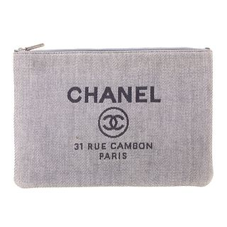 A Chanel Deauville Large O-Case