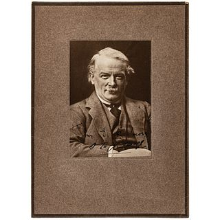 Photograph Signed by British Prime Minister David Lloyd George