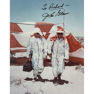 JOHN HERSCHEL GLENN JR. Photograph Inscribed and Signed, To Richard - John Glenn