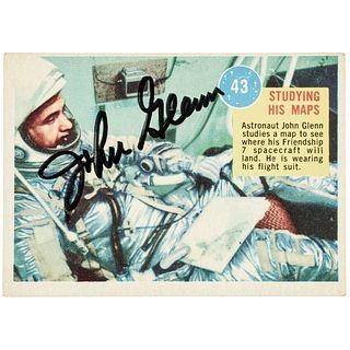 JOHN HERSCHEL GLENN JR (1921-2016) Signed Astronaut Trading Card Rarity
