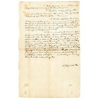 FRANCIS HOPKINSON Signer Dec of Inde. + JARED INGERSOLL Signer U.S. Constitution