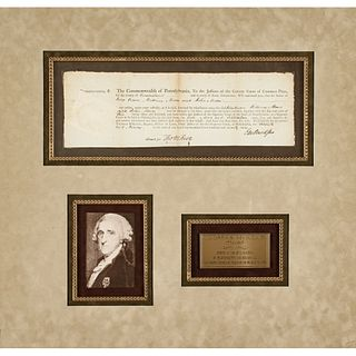 1799 Signer of the Declaration of Independence THOMAS McKEAN, Signed Document