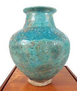 Syrian Rakka Lusterware c1175 Ceramic Vase Vessel