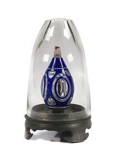 Glass Opium Oil Burning Lamp