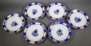(6) Chinese Export Porcelain Plates