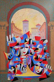 ANATOLE KRASNYANSKY, Signed Serigraph