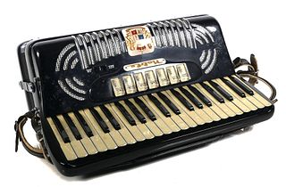 Vintage 1950's Noble Keyboard Accordion