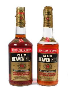 (2) Sealed Old Heaven Hill Bourbon Whiskey Bottles