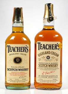 2 Bottles Sealed Teacher's Blended Scotch Whisky