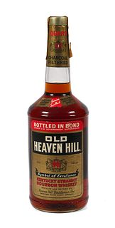 Sealed Quart Old Heaven Hill Bourbon Whiskey