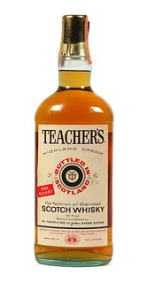 Sealed Quart Teacher's Blended Scotch Whisky