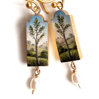 Tree Earrings, Made-to-Order